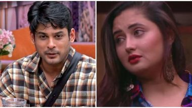 Bigg Boss 13: Sidharth Shukla's Bang-On Arguments vs Rashami Desai's Teary and Emotional Confessions, Who Do You Support? Vote Now!